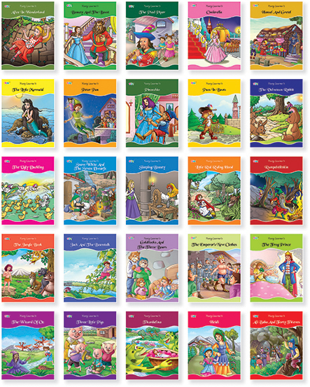 Fairy Tales Series (25 Titles)