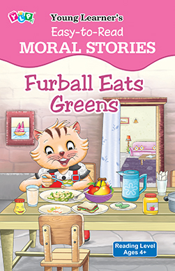 Easy To Read - Furball Eats Greens