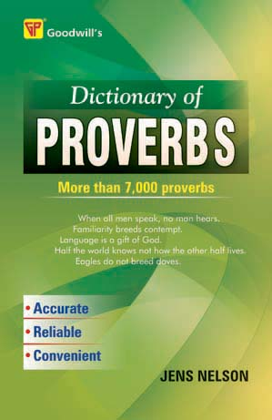 Dictionary of Proverbs
