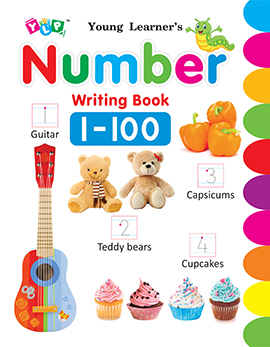 Number Writing Book 1-100