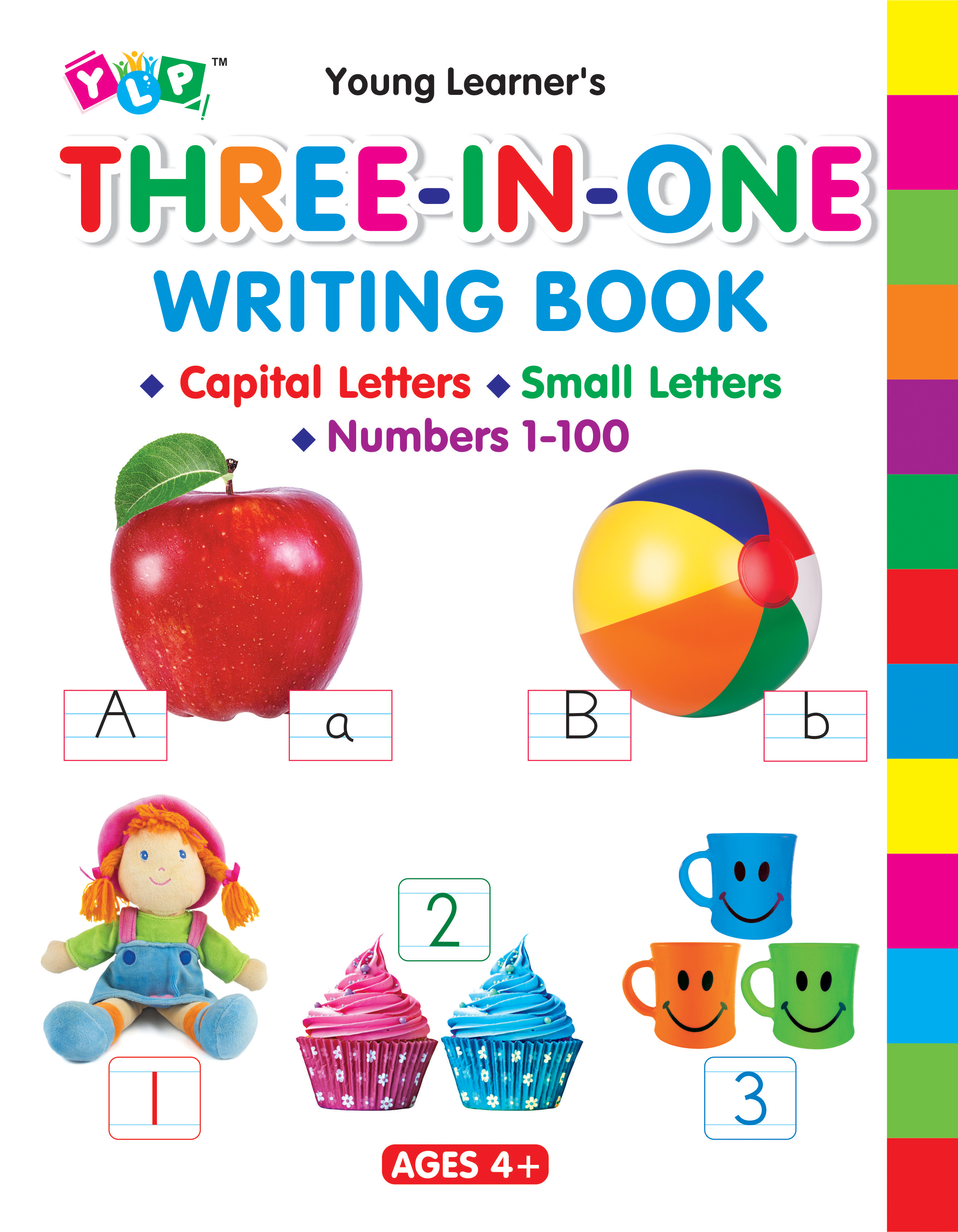 Three-In-One Writing Book