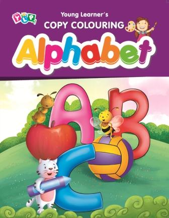 Alphabet : Copy Colouring Book
