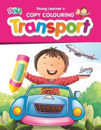 Transport : Copy Colouring Book