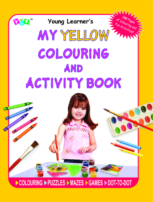 My Yellow Colouring and Activity Book