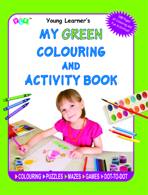 My Green Colouring and Activity Book
