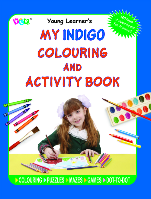 My Indigo Colouring and Activity Book