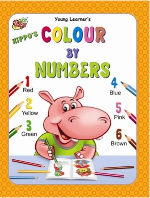 Hippo's Colour by Numbers
