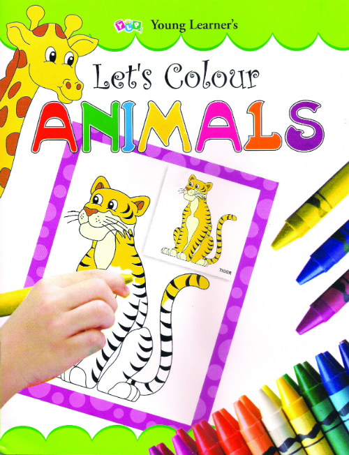 Let's Colour Animals