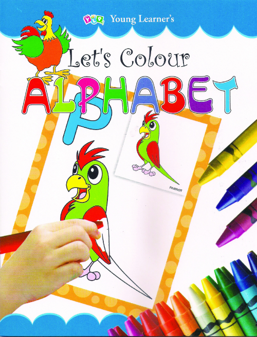 Let's Colour Alphabet