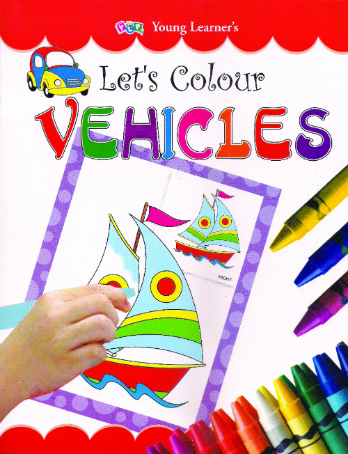 Let's Colour Vehicles