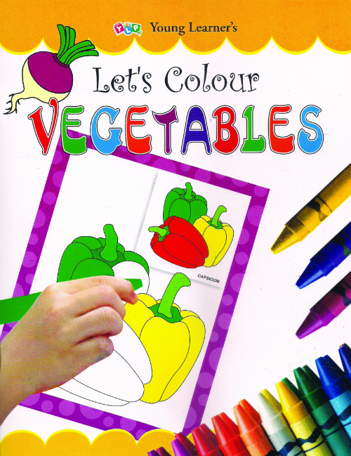 Let's Colour Vegetables