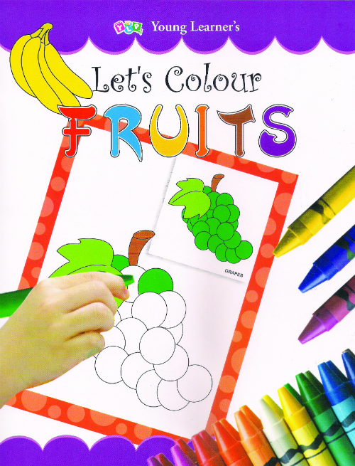 Let's Colour Fruits