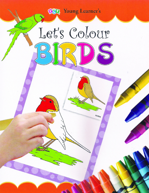 Let's Colour Birds