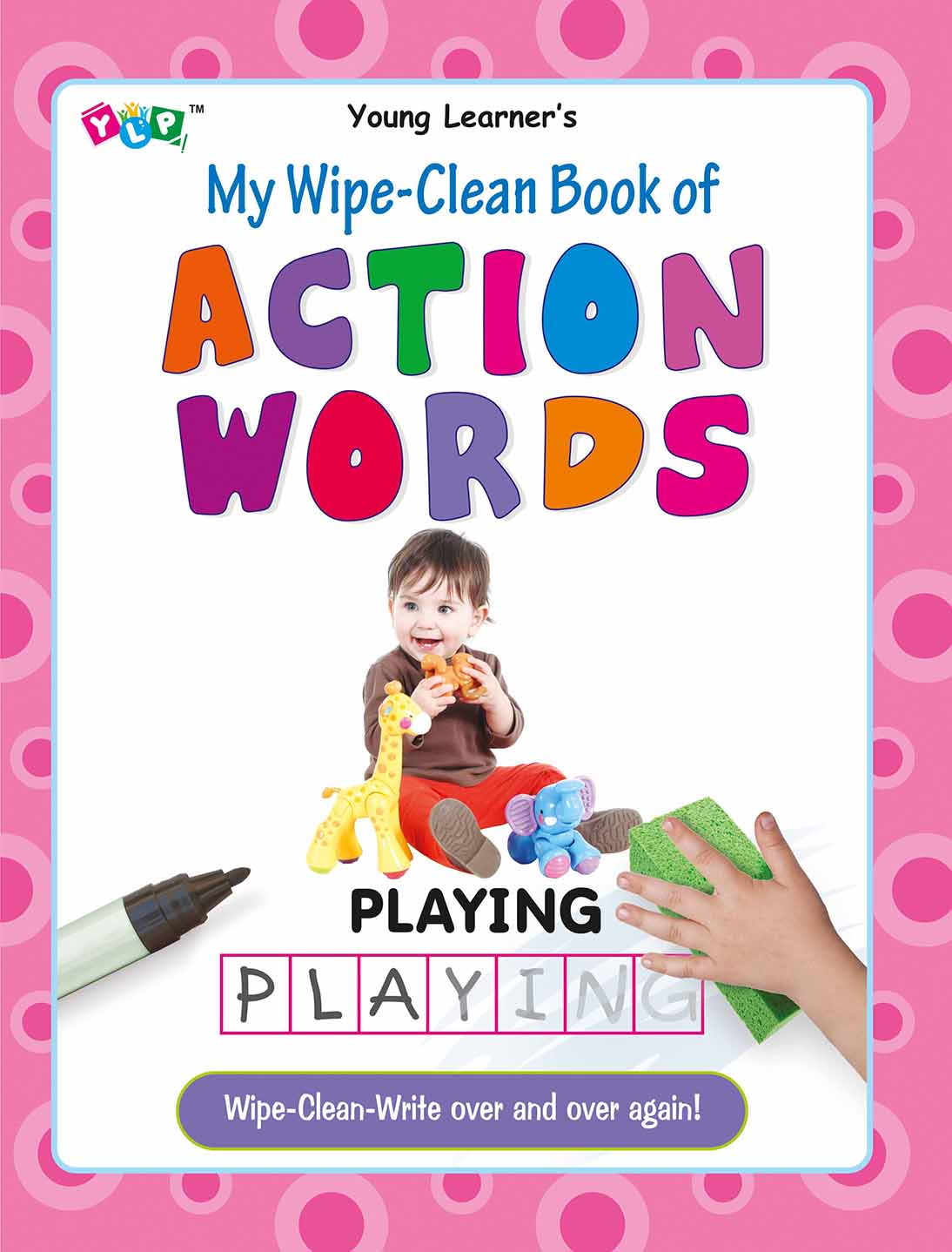 My Wipe-Clean Book of Action Words