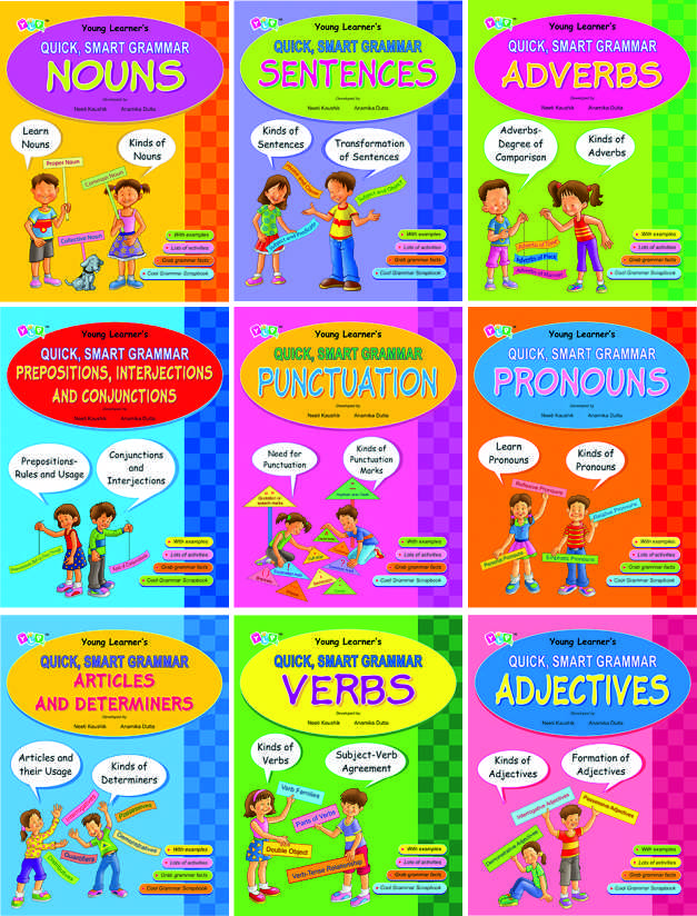 Quick Smart Grammar Series (9 Titles)