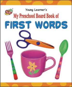 My Preschool Board Book of First Words