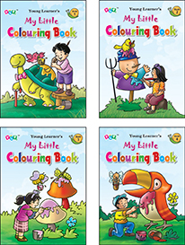 Little Colouring Books Set (4 Titles)