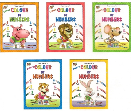 Colour By Numbers (5 Titles)