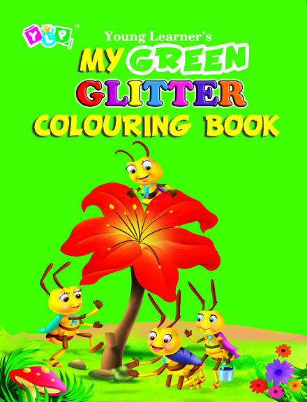 My Green Glitter Colouring Book