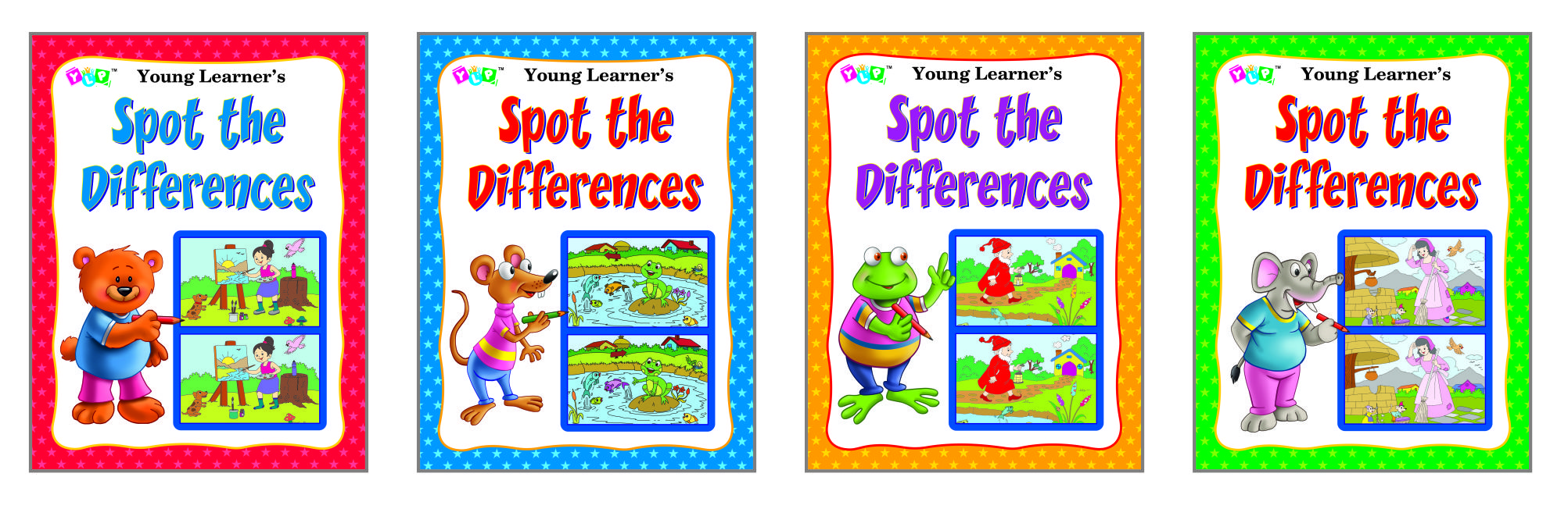 Spot the Difference Series (4 Titles)