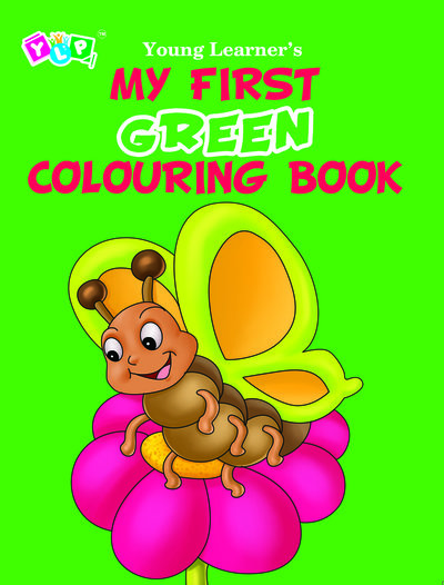My First Green Colouring Book