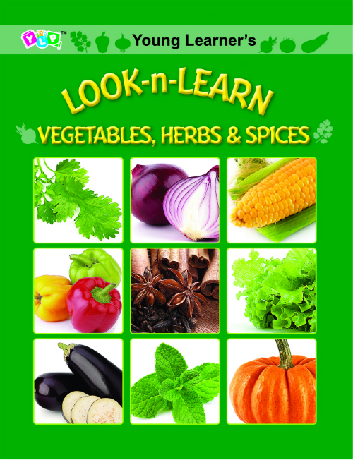 Look-n-Learn Vegetables, Herbs & Spices