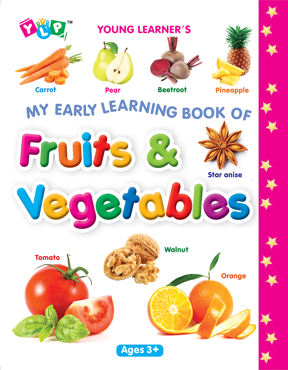 My Early Learning Book of Fruits & Vegetables (Full Laminated)