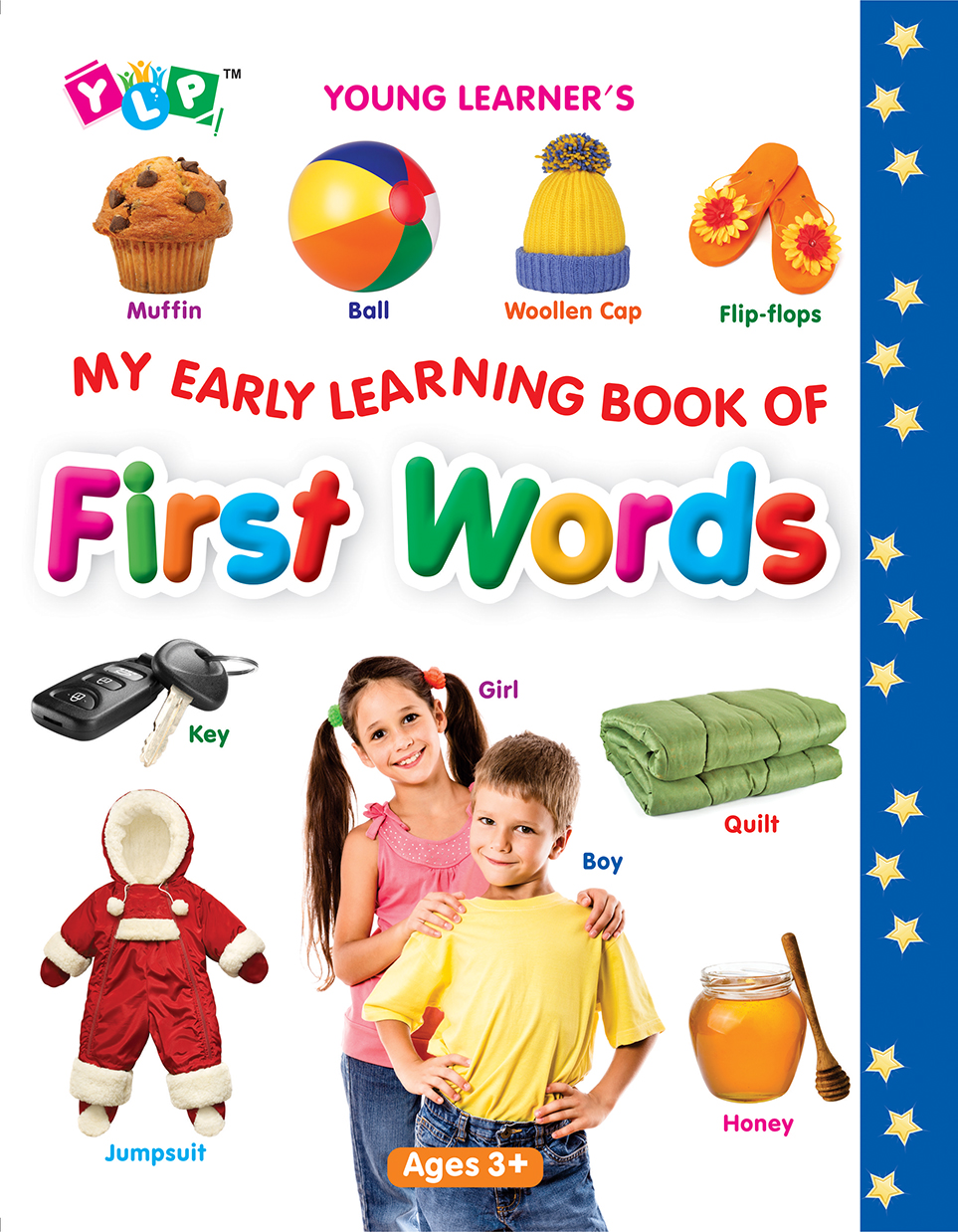 My Early Learning Book of First Words (Full Laminated)