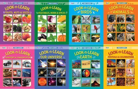 Look-n-Learn Books (Set of 8 Titles)
