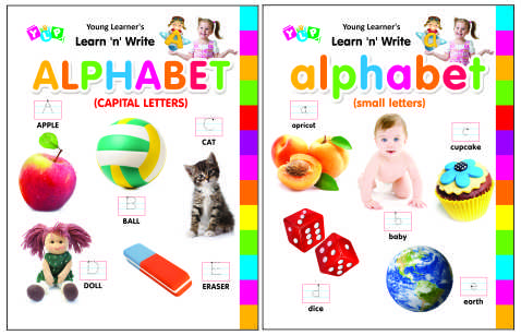Learn 'n' Write Capital & Small ( Set of 2 Titles)