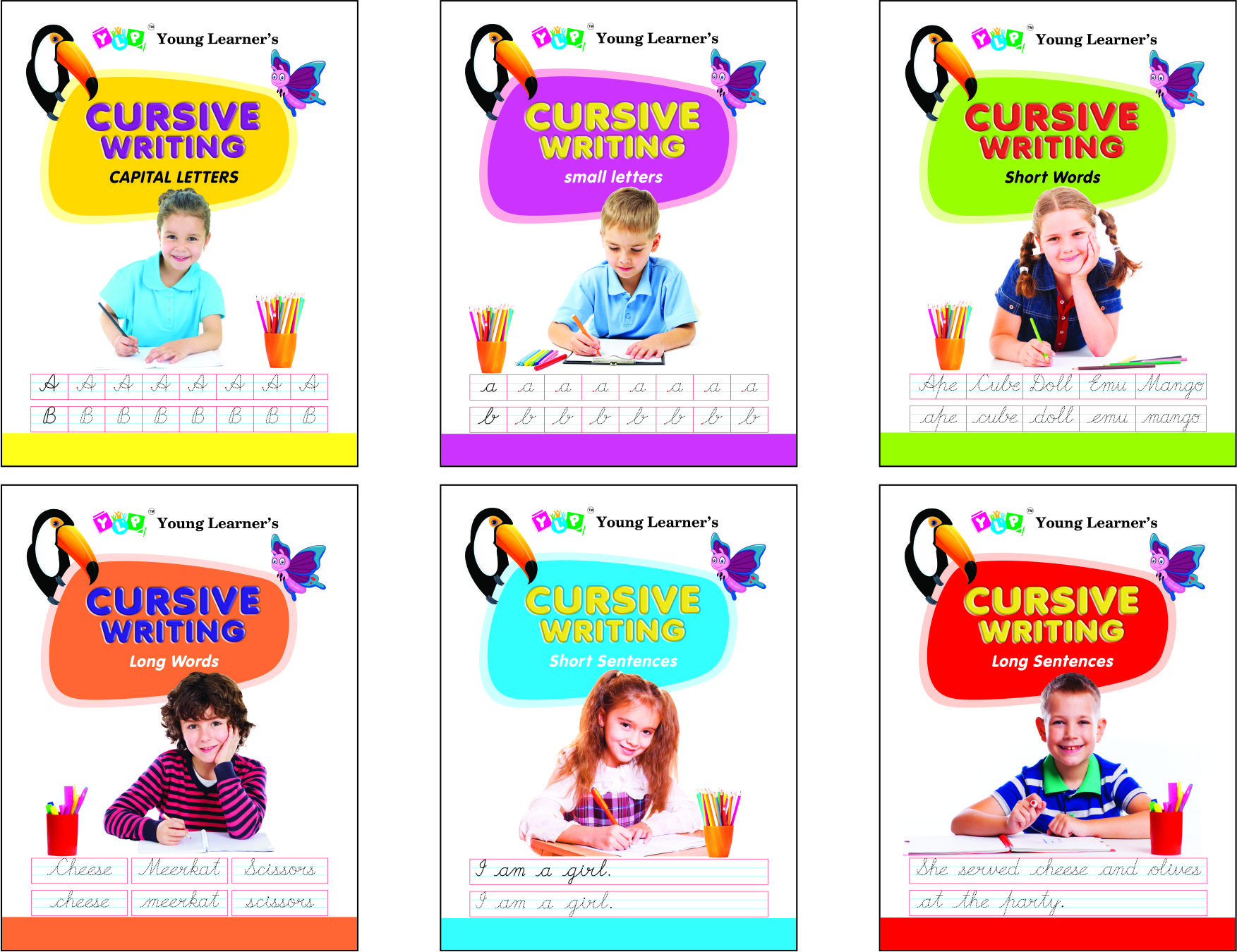 Cursive Writing Series (6 Titles)