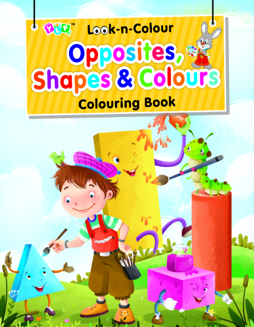 Look-n-Colour - Opposite, Shapes & Colour