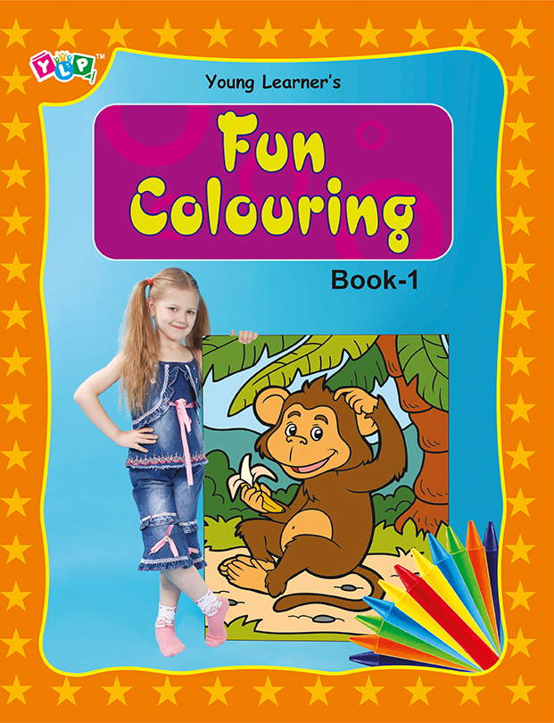 Fun Colouring Book 1