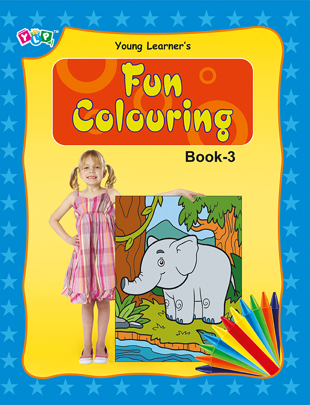 Fun Colouring Book 3
