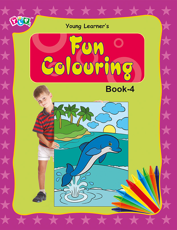 Fun Colouring Book 4