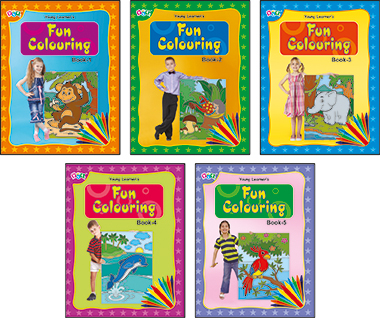 Fun Colouring Books (5 Titles)