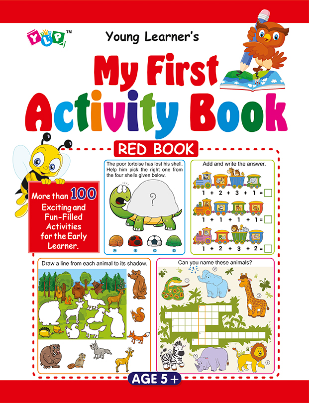 My First Activity Book (Red)