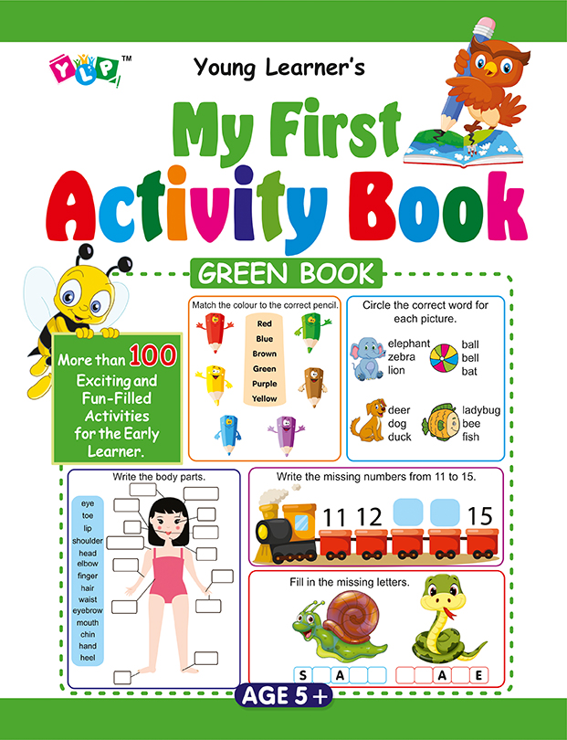 My First Activity Book (Green)