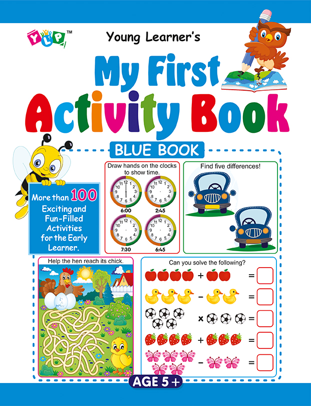 My First Activity Book (Blue)