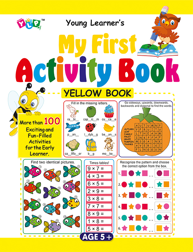 My First Activity Book (Yellow)