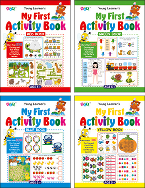My First Activity Books (4 Titles)