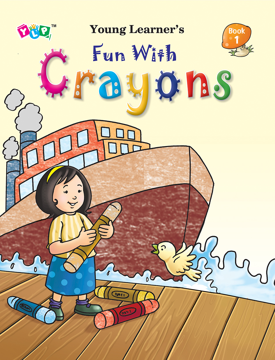 Fun with Crayons Book-1