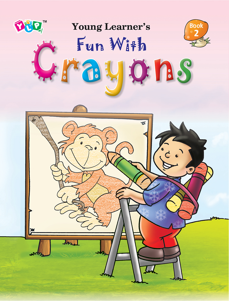 Fun with Crayons Book-2