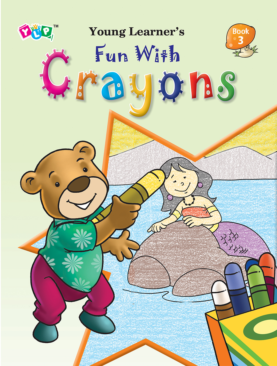 Fun with Crayons Book-3