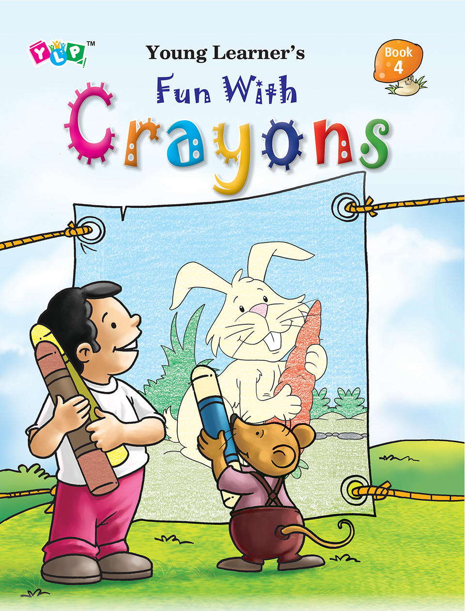 Fun with Crayons Book-4