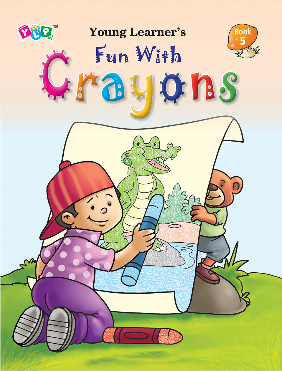 Fun with Crayons Book-5