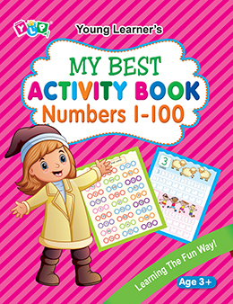 My Best Activity Book Numbers 1-100